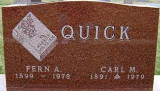 JARVIS QUICK, FERN A. - Ringgold County, Iowa | FERN A. JARVIS QUICK
