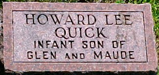 QUICK, HOWARD LEE - Ringgold County, Iowa   HOWARD LEE QUICK