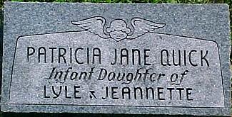 QUICK, PATRICIA JANE - Ringgold County, Iowa | PATRICIA JANE QUICK