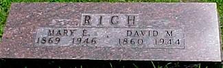 RICH, DAVID M. - Ringgold County, Iowa | DAVID M. RICH