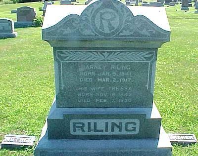RILING, TRESSA (FOSSBURG) - Ringgold County, Iowa | TRESSA (FOSSBURG) RILING
