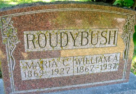 ROUDYBUSH, WILLIAM ALEXANDER - Ringgold County, Iowa | WILLIAM ALEXANDER ROUDYBUSH