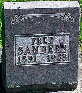 SANDERS, FRED - Ringgold County, Iowa | FRED SANDERS