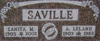FULLERTON SAVILLE, ZANITA MARGARET - Ringgold County, Iowa | ZANITA MARGARET FULLERTON SAVILLE