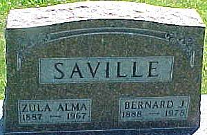 DENNEY SAVILLE, ZULA ALMA - Ringgold County, Iowa | ZULA ALMA DENNEY SAVILLE