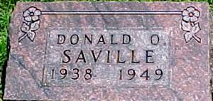 SAVILLE, DONALD O. - Ringgold County, Iowa | DONALD O. SAVILLE