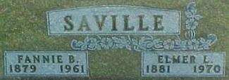 SAVILLE, FANNIE BELLE - Ringgold County, Iowa | FANNIE BELLE SAVILLE