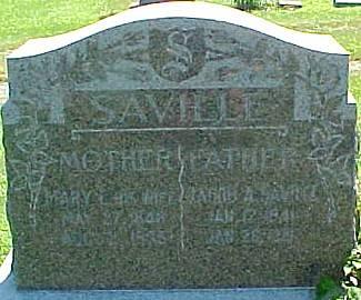 SAVILLE, JACOB ABRAHAM - Ringgold County, Iowa | JACOB ABRAHAM SAVILLE