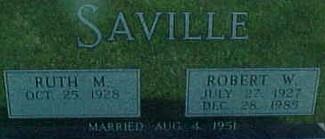 SAVILLE, ROBERT W. - Ringgold County, Iowa | ROBERT W. SAVILLE