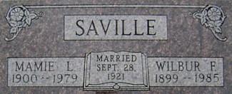 SAVILLE, MAMIE L. - Ringgold County, Iowa | MAMIE L. SAVILLE