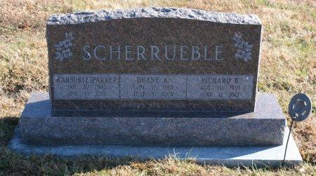 SCHERRUEBLE, MARJORIE - Ringgold County, Iowa   MARJORIE SCHERRUEBLE