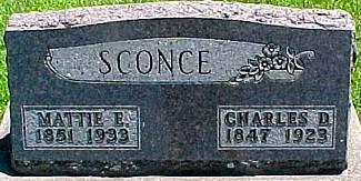 HECKLE SCONCE, MARTHA E.