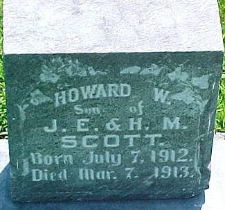 SCOTT, HOWARD W. - Ringgold County, Iowa | HOWARD W. SCOTT