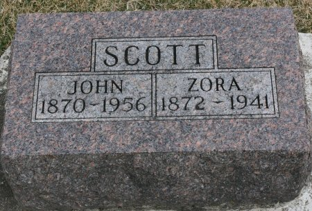 SCOTT, ZORA - Ringgold County, Iowa | ZORA SCOTT