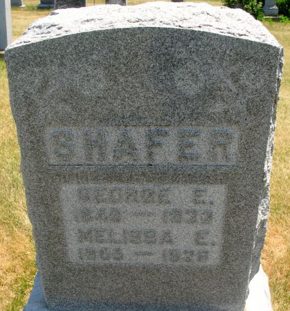 SHAFER, GEORGE E. - Ringgold County, Iowa | GEORGE E. SHAFER