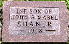 SHANER, INFANT SON - Ringgold County, Iowa | INFANT SON SHANER