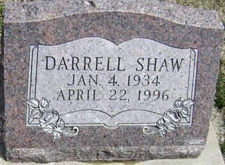 SHAW, DARRELL - Ringgold County, Iowa   DARRELL SHAW