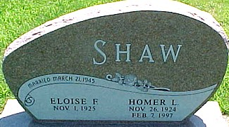 SHAW, ELOISE FAIRIE (STATON) - Ringgold County, Iowa | ELOISE FAIRIE (STATON) SHAW