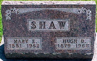 SHAW, MARY EMMELINE (JENNINGS) - Ringgold County, Iowa | MARY EMMELINE (JENNINGS) SHAW