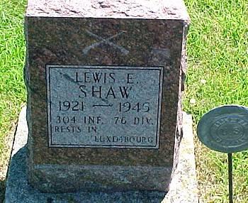 SHAW, LEWIS E. - Ringgold County, Iowa | LEWIS E. SHAW