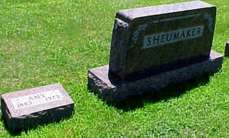 MILLER SHEUMAKER, AMY ESTHER - Ringgold County, Iowa | AMY ESTHER MILLER SHEUMAKER