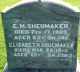 BERRY SHEUMAKER, ELIZABETH WATSON - Ringgold County, Iowa   ELIZABETH WATSON BERRY SHEUMAKER