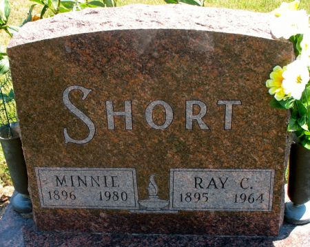 SHORT, MINNIE - Ringgold County, Iowa   MINNIE SHORT