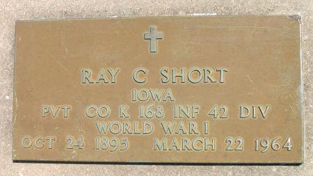 SHORT, RAY C. - Ringgold County, Iowa | RAY C. SHORT