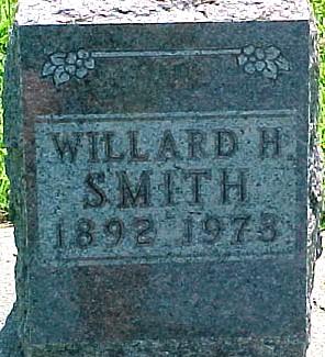 SMITH, WILLARD H. - Ringgold County, Iowa   WILLARD H. SMITH