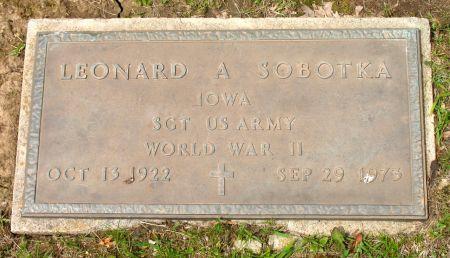 SOBOTKA, LEONARD ANDREW - Ringgold County, Iowa | LEONARD ANDREW SOBOTKA