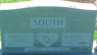SOUTH, DORIS ELFREDA (JARVIS) - Ringgold County, Iowa | DORIS ELFREDA (JARVIS) SOUTH