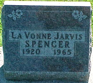 JARVIS SPENCER, LAVONNE - Ringgold County, Iowa | LAVONNE JARVIS SPENCER