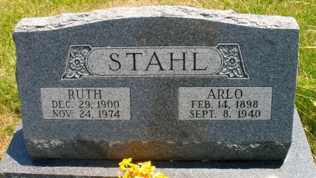 STAHL, RUTH - Ringgold County, Iowa | RUTH STAHL