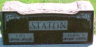STATON, ELLA - Ringgold County, Iowa | ELLA STATON