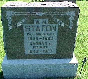 STATON, WILLIAM M. - Ringgold County, Iowa | WILLIAM M. STATON