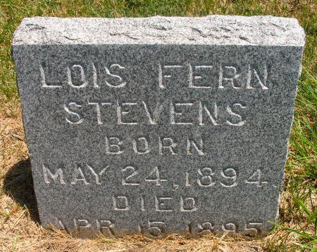 STEVENS, LOIS FERN - Ringgold County, Iowa | LOIS FERN STEVENS