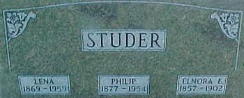 STUDER, PHILIP - Ringgold County, Iowa | PHILIP STUDER