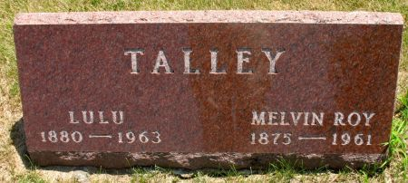TALLEY, MELVIN ROY - Ringgold County, Iowa | MELVIN ROY TALLEY