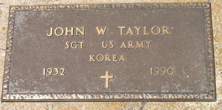 TAYLOR, JOHN W. - Ringgold County, Iowa | JOHN W. TAYLOR