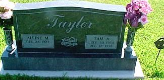 TAYLOR, SAM A. - Ringgold County, Iowa   SAM A. TAYLOR