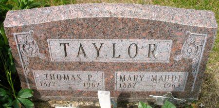 TAYLOR, THOMAS P. - Ringgold County, Iowa | THOMAS P. TAYLOR