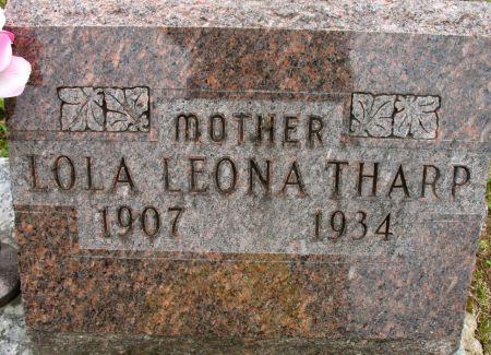 THARP, LOLA LEONA - Ringgold County, Iowa | LOLA LEONA THARP