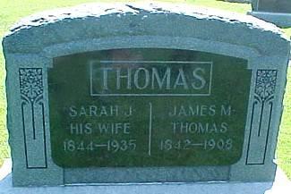 THOMAS, SARAH J. - Ringgold County, Iowa | SARAH J. THOMAS