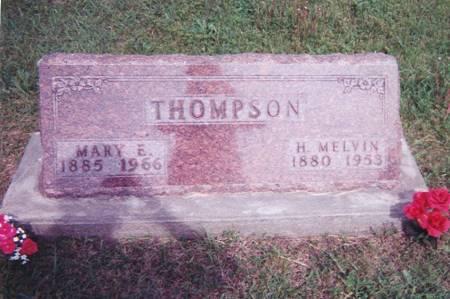 WELLS THOMPSON, MARY ELIZABETH - Ringgold County, Iowa | MARY ELIZABETH WELLS THOMPSON