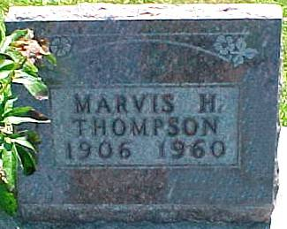 THOMPSON, MARVIS H. - Ringgold County, Iowa | MARVIS H. THOMPSON
