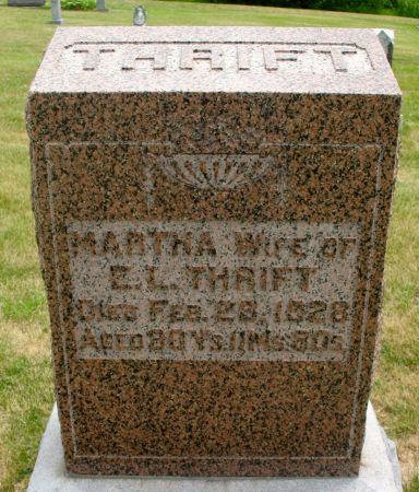 THRIFT, MARTHA - Ringgold County, Iowa | MARTHA THRIFT