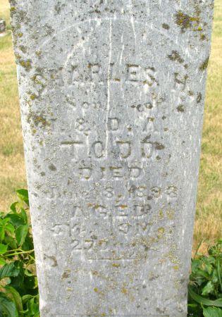 TODD, CHARLES H. - Ringgold County, Iowa   CHARLES H. TODD