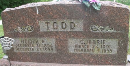 TODD, C. MARIE - Ringgold County, Iowa | C. MARIE TODD