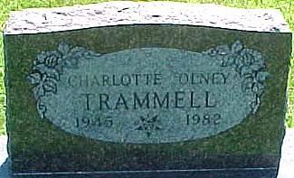 OLNEY TRAMMELL, CHARLOTTE ELIZABETH - Ringgold County, Iowa | CHARLOTTE ELIZABETH OLNEY TRAMMELL