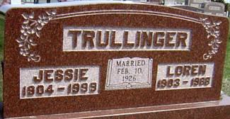TRULLINGER, LOREN - Ringgold County, Iowa | LOREN TRULLINGER
